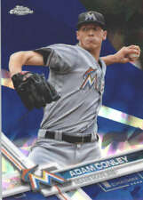 ADAM CONLEY 2017 TOPPS CHROME SAPPHIRE EDITION #163 ONLY 250 MADE