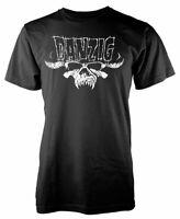 Official Danzig T Shirt Logo Mens Black Punk Rock Metal Classic Unisex Tee NEW