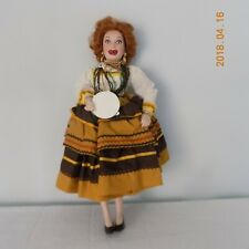 LUCILLE BALL GYPSIE PORCELAIN DOLL FROM THE HAMILTON COLLECTION