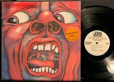 King Crimson Court/Crimson King 1969 USA  WHITE LABEL PROMO LP NM- Prog/Psych