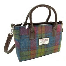 Ladies Authentic Harris Tweed Small Tote Bag With Shoulder Strap LB1228 COL 46