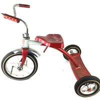 AMF Junior Vintage 1960's Kid's Red Tricycle Olney Illinois - No Pedals -