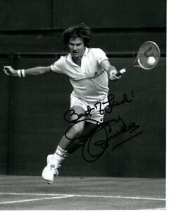 JIMMY CONNORS Signed Autographed TENNIS Photo