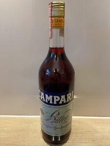 80er - Campari Bitter - Milano - 1L - ungeöffnete Originalflasche - Sammler
