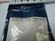 M20SW OSCILLOSCOPE PASSIVE PROBE 100 MHZ 19 P.F. X10/X1 NEW OLD STOCK
