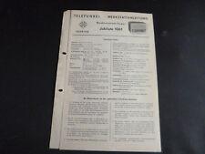 Original Service Manual Telefunken Jubilate 1061