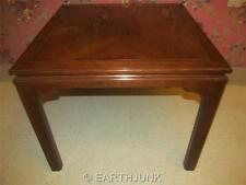 A Pair of Ethan Allen Canova Solid Cherry Corner Square End Tables 27 8004