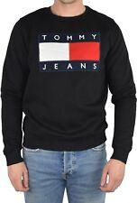 Tommy Hilfiger Sweatshirt Pullover Sweater 90s Tommy Jeans Neu Größe L Schwarz