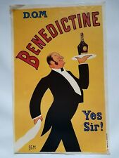 "Affiche Bénédictine ""D.O.M Yes sir !"" par Sem - Old Bénédictine's poster"