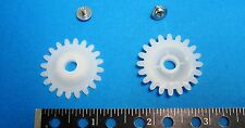 2 Fabric Gear for Silverreed/Singer/Studio knitting machine with screw