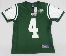 NFL New York Jets #4 Favre Womens Green Jersey Size M