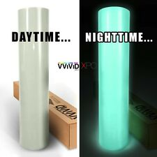 "VViViD 12"" x 24"" Green Glow in the Dark Vinyl Wrap Decal"