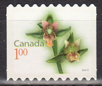 Canada #2362i Flower Definitive Die-Cut From Booklet MNH