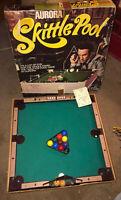 Vtg. 1970's Aurora Skittle Pool Table Family Billiards Game Set Don Adams cover