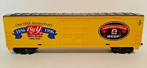 Unbranded-HO Scale Our 60th Anniv. 1936 Big Y 1996,Certified Angus Beef Box Car