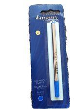 Recharge roller Waterman bleue pointe métal Fine 907