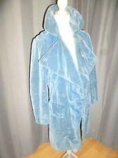 Costume ancien Redingote velours bleu roi style XVIII