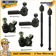 Toyota Corolla Geo Prizm 6 Pc Set Front Inner Outer Tie Rod End Lower Ball Joint