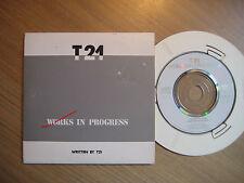 "T21-works in progress, 3"" CD"