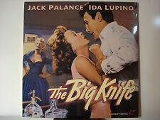 Big Knife, The 1955 LaserDisc NEW Jack Palance - Ida Lupino Rod Steiger Gem-Mint