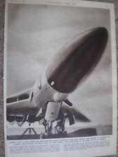 Photo article RAF Avro Vulcan jet bomber aircraft 1955