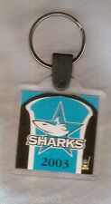 #RR. 2003  CRONULLA SHARKS  KEYRING WITH GAME DRAW