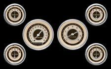 Classic Instruments Nostalgia Vt Series 6 Gauge Set NT01SHC-kph Speedo Tach