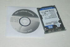 "Dell Latitude D630 320GB 7200rpm 2.5"" SATA Hard Drive with Caddy and Driver DVD"