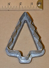 VTG COOKIE CUTTER MOLD HAND MADE INDUSTRIAL COMMERCIAL BAKERY CHRISTMAS TREE