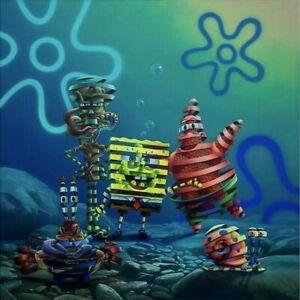 """ATLANTIS SQUAREPANTIS"" Sponge Bob By Super A Art Print Poster Signed XX/150 BNG"
