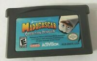 Nintendo Madagascar Operation Penquin Game Boy Advance GBA  Game Only TESTED