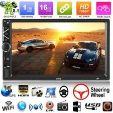A3 2 DIN 7 inch Android 8.1 Car Stereo Mirror Link GPS 12V BT 4.0 FM MP5 Player