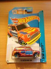 Hot Wheels Austin Mini Van Diecast Car 27/250