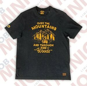 Royal Enfield Genuine Merchandise Tee Shirt - OVER THE MOUNTAINS