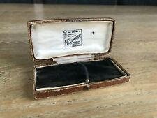 Antique H Samuel Manchester Jewellery Watch Bracelet Chain Box Distressed