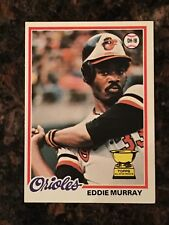 1978 Topps Eddie Murray Baltimore Orioles #36 Baseball Card