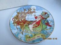 Vintage Avon Collectible Plate 1993 Special Christmas Delivery