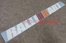 Ralliart Windscreen Window Sticker Decals Lancer Evo Evolution FREE SHIP x 1