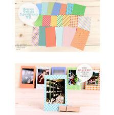 20x Retro Color Instant Films Sticker For FujiFilm Instax Mini 7s 25 50s
