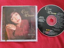CeCe Winans His Gift DPRO13545 Pioneer Music Promo Christmas Used CD Album