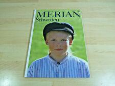 Zeitschrift Reisemagazin MERIAN - Schweden / Heft