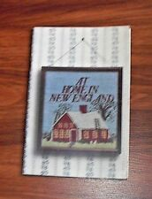 At Home in New England Book 1986 The Forgotten Arts Premium Edition Yankee Pub.