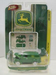 Johnny Lightning Chase - John Deere '50 Chevy Panel Truck - White Lightning MOC