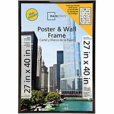 Mainstays 27x40 Trendsetter Collage Poster Frame, Black