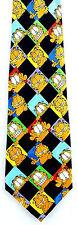 Garfield Cat Faces Mens Neck Tie Cartoon Silk Neck Tie Keith Daniels Gift New