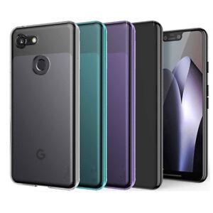 For Google Pixel 4 Pixel 2 3 3a XL Slim Glossy Gel Soft TPU Case Skin Cover