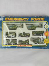 Lledo Road Tough Emergency Force - 8 New Vehicles - Die-Cast Metal