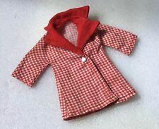 Sindy Vintage Red Hot Coat Ref 12S48)  1972 missing belt
