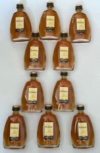 10 Flaschen Fläschchen Hennessy Fine de Cognac - Qualite Rare - 50 ml
