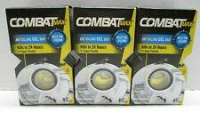 Combat Max Ant Killing Gel Bait 3 packs x 4 baits in ea. NEW Sealed Henkel